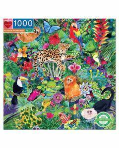eeBoo 1000 Piece Puzzle – Amazon Rainforest