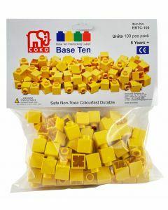 Coko Cube Bricks Base 10 Units 100 pc set (Ages 5+)