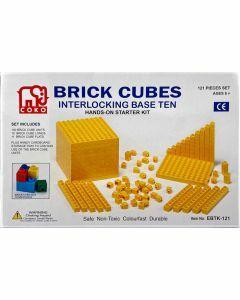 Coko Cube Bricks Base 10 Kit 121 pc set (Ages 6+)