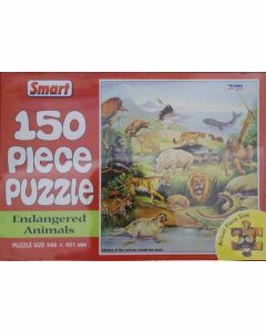 Endangered Animals 150 Piece Puzzle