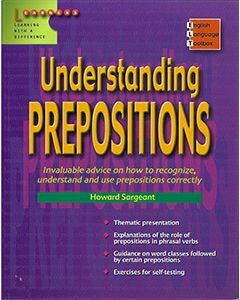 English Language Toolbox: Understanding Prepositions