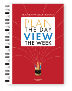 Teacher's Weekly Planner: Plan the Day View the Week