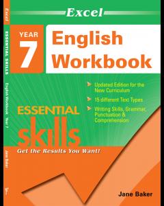 Excel Essential Skills: English Workbook Year 7