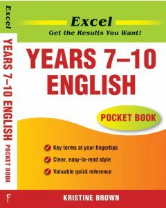 Excel Years 7 to 10 English Pocket Book