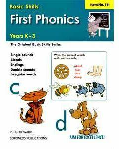 First Phonics Yrs K to 3  (Basic Skills No. 111)