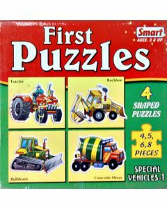First Puzzles - Special Vehicles I