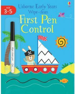 Usborne Early Years Wipe-clean First Pen Control