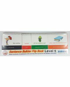 Sentence Builder Flip Book Level 2