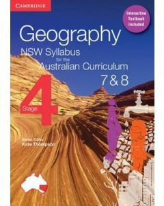 Geography NSW for the AC Stage 4 Year 7&8 Print and Digital