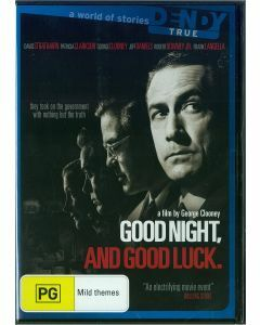 Good Night, and Good Luck DVD