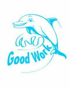 Good Work Dolphin (ST1242)