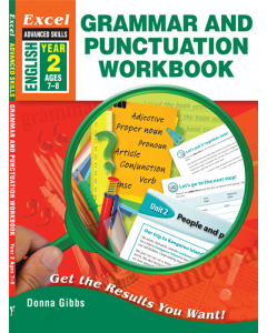 Excel Advanced Skills Grammar and Punctuation Workbook Year 2