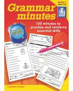 Grammar Minutes Book C (Ages 7 to 8)