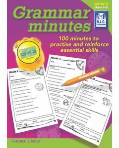 Grammar Minutes Book D (Ages 8 to 9)
