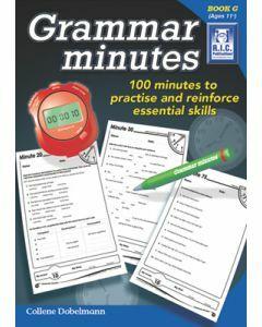 Grammar Minutes Book G (Ages 11+)