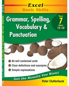 Excel Grammar, Spelling, Vocabulary and Punctuation Year 7