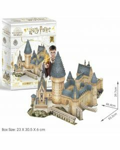 Hogwarts Great Hall 187 Piece 3D Puzzle (Ages 8+)