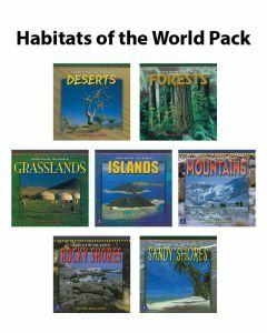 Longman Habitats of the World Pack