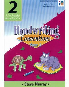 Handwriting Conventions 2 (NSW Foundation Handwriting Style)