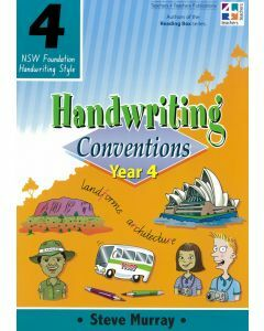 Handwriting Conventions 4 (NSW Foundation Handwriting Style)