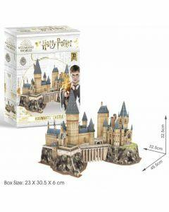 Hogwarts Castle 197 Piece 3D Puzzle (Ages 8+)