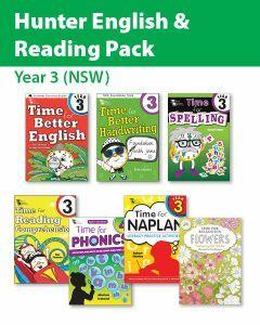 Hunter Grade 3 English & Reading Pack (NSW)