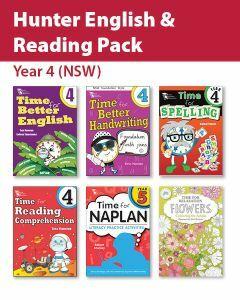 Hunter Grade 4 English & Reading Pack (NSW)