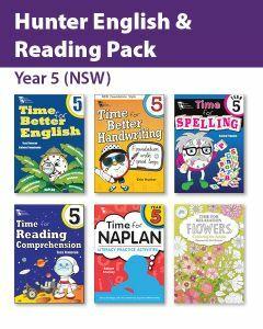 Hunter Grade 5 English & Reading Pack (NSW)