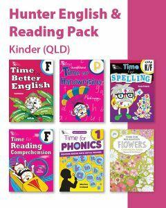 Hunter Grade K/P English & Reading Pack (QLD)