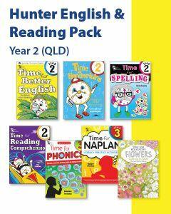 Hunter Grade 2 English & Reading Pack (QLD)