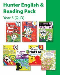Hunter Grade 3 English & Reading Pack (QLD)