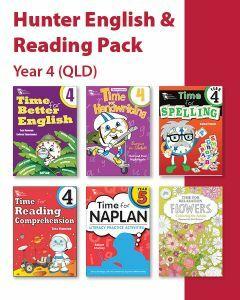 Hunter Grade 4 English & Reading Pack (QLD)