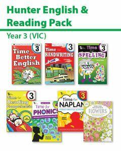 Hunter Grade 3 English & Reading Pack (VIC)