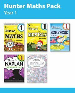 Hunter Grade 1 Maths Pack