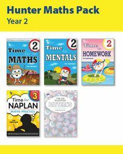 Hunter Grade 2 Maths Pack