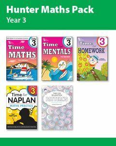 Hunter Grade 3 Maths Pack