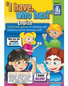 I Have Who Has English (Ages 5-7)
