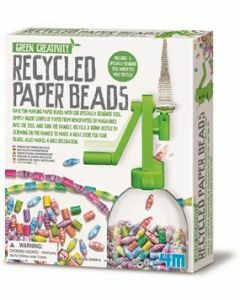 Recycled Paper Beads (ages 5+)