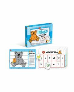 Initial Consonants Bingo: Beat the Bear