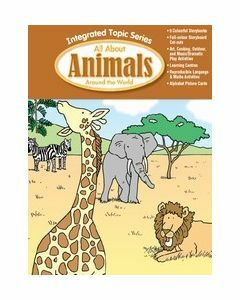Integrated Topic Series All About Animals Around the World (Lower Primary)