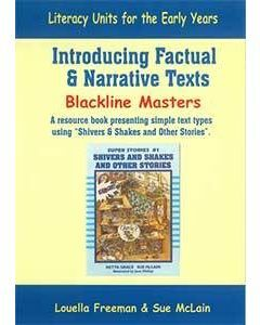 Introducing Factual and Narrative Texts Blackline Master