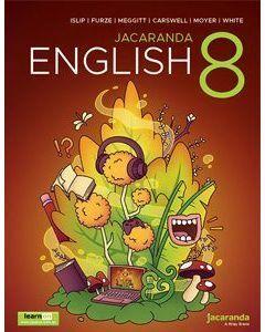 [Pre-order] Jacaranda English 8 Print & learnON [Due 2021]