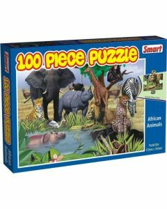 African Animals 100 Piece Puzzle (Ages 4+)