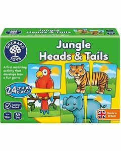 Orchard Toys Jungle Heads & Tails (Ages 18m+)