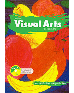 Junior Visual Arts for Teachers (Includes Smartboard CD)