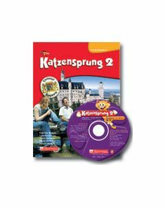 Katzensprung 2 (Textbook + CD Rom)