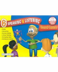 6 Speaking & Listening Board Games (Ages 4+)