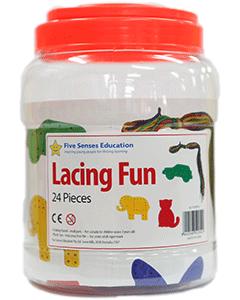Lacing Fun 24 pieces #QL-054(B)-2