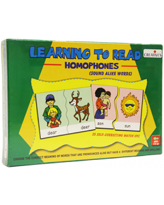 Learning to Read Homophones (Ages 4+) - 0917