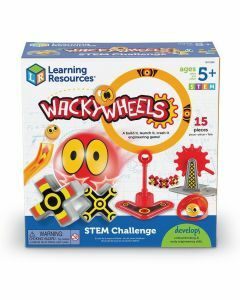Wacky Wheels STEM Challenge Game (Ages 5 to 9)